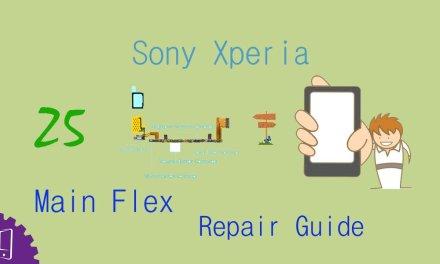 Sony Xperia Z5 Dual Main Flex Repair Guide