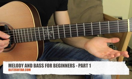 The Godfather Acoustic Guitar Lesson for Beginners.