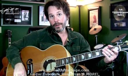 YGSGL – Cool Tricks for Difficult Strumming Rhythms – Beginner Acoustic Guitar Lessons
