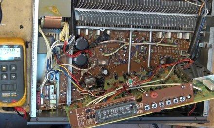 NAD 7155 Supercap and protector repair