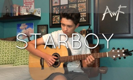 The Weeknd – Starboy ft. Daft Punk – Cover (Fingerstyle Guitar)