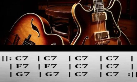 Slow Blues Guitar Backing Track in C7