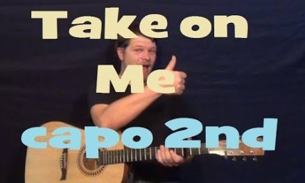 Take on Me (a-ha) Easy Guitar Lesson Strum Chords Licks How to Play Take on Me Tutorial