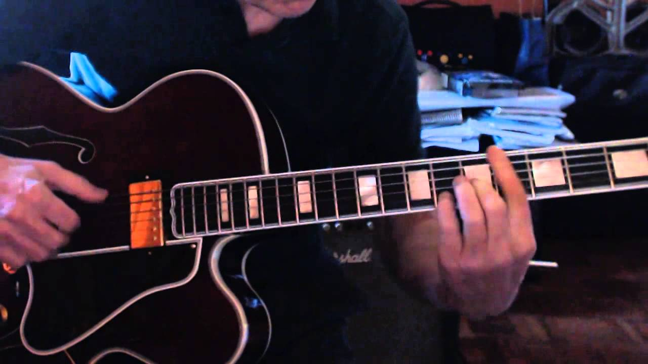 In A Sentimental Mood Solo Jazz Guitar Fingerstyle Melody