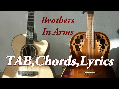 Brothers in Arms TAB, Chords, Solo – Dire Straits (acoustic ...