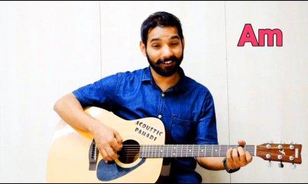 Mai Phir Bhi Tumko Chahunga Guitar Lesson