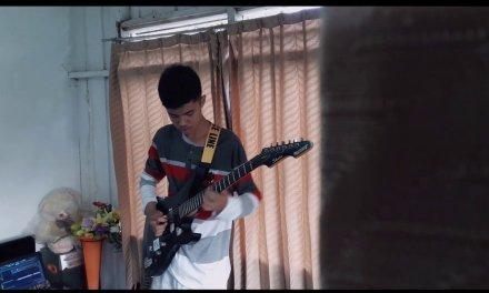 Backing track in F major..joe satriani..Emotional Melodic Solo (cover guitar) Firly juliawan