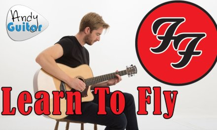 Learn To Fly – Foo Fighters Guitar Lesson – EASY how to play
