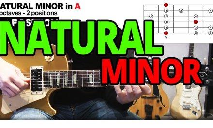 Natural Minor Scale – Guitar Lesson