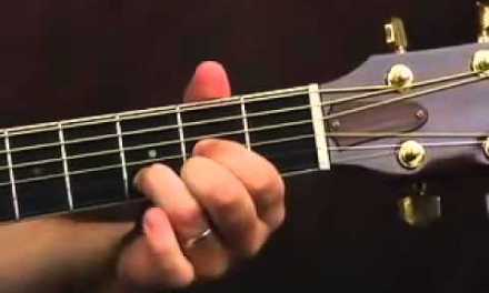 Acoustic Guitar Lesson –  How To Embellish Cowboy Chords