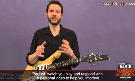 Guitar Lessons with Paul Gilbert: String Bending