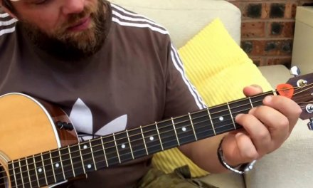 Oasis-The Importance Of Being Idle-Acoustic Guitar Lesson.
