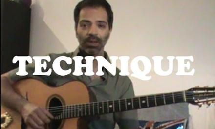 Jazz Guitar lesson #3: minor arpeggio and major arpeggio, Angelo Debarre technique.