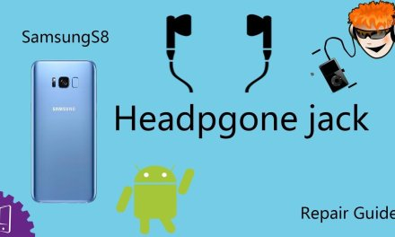 Samsung Galaxy S8 Plus Headphone jack Repair Guide