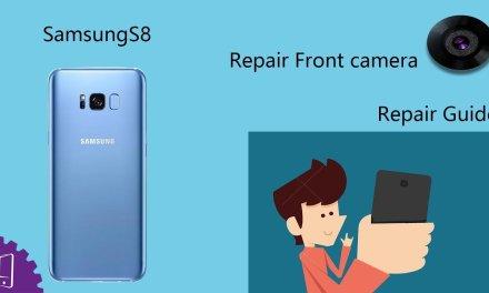 Samsung Galaxy S8 Plus Front camera Repair Guide