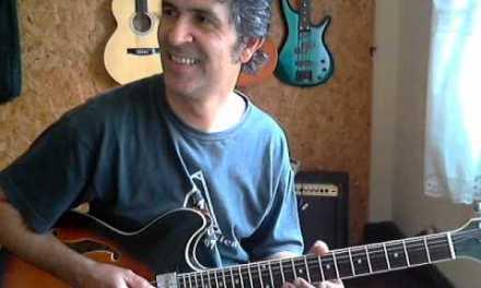 Giant steps jazz guitar by Juka Fernandes
