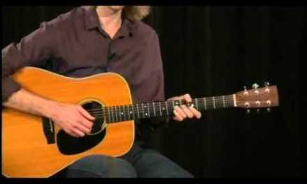 Blues-Rock Acoustic Licks Guitar Lesson @ GuitarInstructor.com (preview)