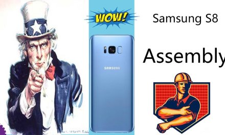 Samsung Galaxy S8 Plus Assembly