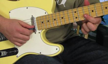 Blues Rock Guitar Lessons – Rock and Blues Lick for Electric Guitar – Fender Telecaster