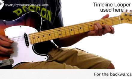 Dancing In The Dark Guitar Arrangement Lesson