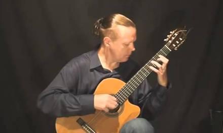 Modern Classical Guitar – Siberian madonna (Valery Litvinov – guitar)