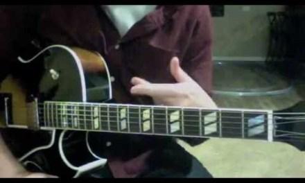 Jazz Guitar Lesson 2 (2/3) Mickey Baker
