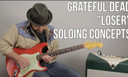 """Grateful Dead Lead Guitar Lesson – Jerry Garcia Inspired Concepts for """"Loser"""""""