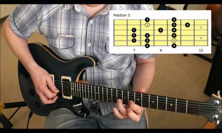 5 Positions Of The Dorian Mode On Guitar