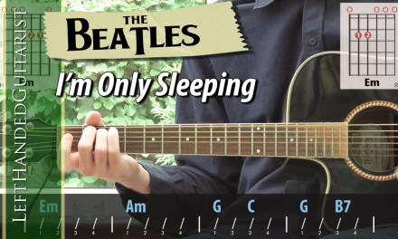 The Beatles – I'm Only Sleeping | guitar lesson