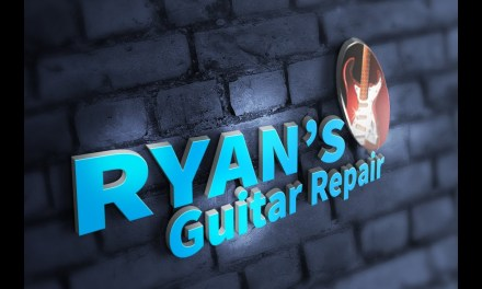 Guild Starfire III bracing & sunken top. Ryan's Guitar Repair, Gulfport Mississippi