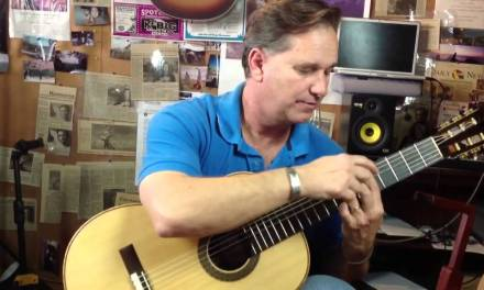 Learning classical guitar Mallorca page 1