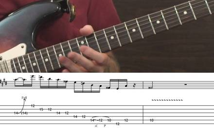 Classic Blues-Rock Guitar Licks…