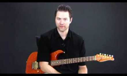 Blues Scale for Guitar – Guitar Lesson.flv