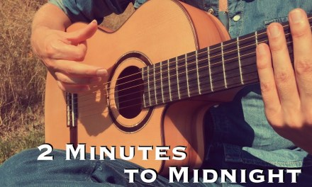 2 Minutes to Midnight – IRON MAIDEN (Acoustic) – Classical Fingerstyle Guitar by Thomas Zwijsen