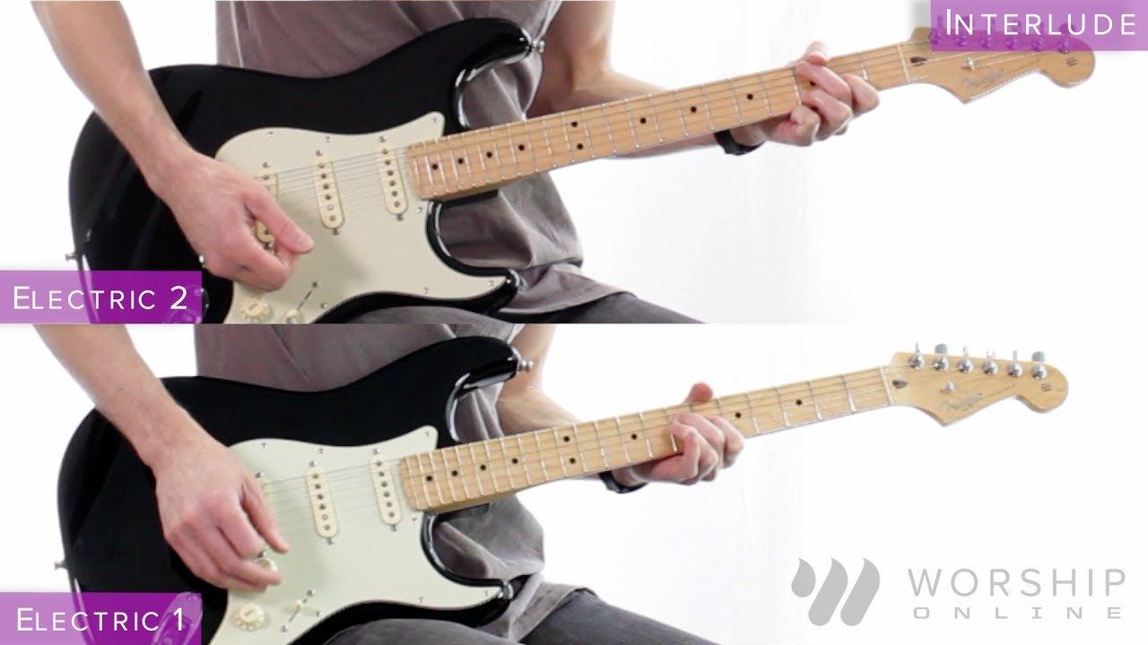 Grateful Elevation Worship Electric Bass Guitar Tutorial The