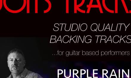 """Backing Track-""""PURPLE RAIN"""" Prince (minus guitar and vocals)"""