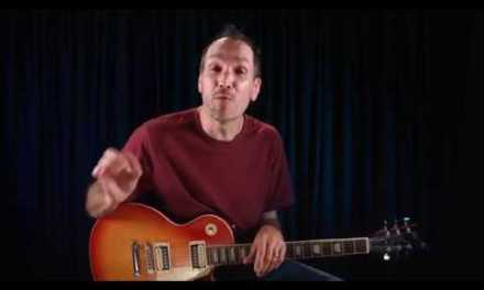 How To Play the Diagonal Pentatonic Scale | Box Pattern Guitar Lesson | Guitar Tricks