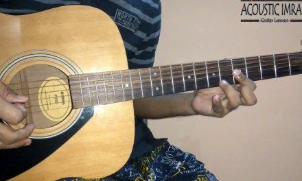 Hue Bechain Guitar Lesson/Tabs/Lead | Ek Haseena Thi Ek Deewana Tha | By Acoustic Imran
