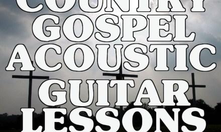 Country Gospel Acoustic Guitar Lessons Vol. 1 Intro Scott Grove