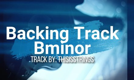 Guitar Backing Track Bminor CINEMATIC Blues *ThisIsStrings*