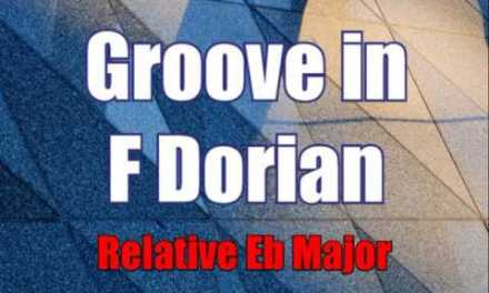Groove in F Dorian Mode Backing track