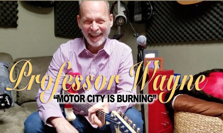"Prof. Wayne Guitar Class! ""Motor City Is Burning"""