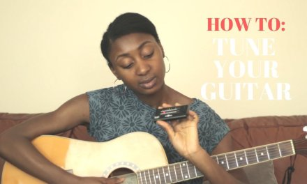 How To Tune A Guitar & Memorise String Names! (Free & Easy) I Lesson 2