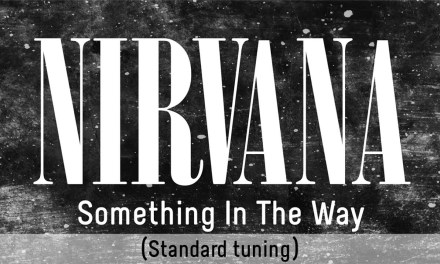 Nirvana – Something In The Way (backing track for guitar, Drop D tuning)
