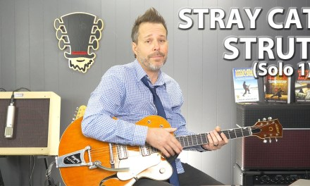 Stray Cat Strut (Solo 1) Guitar Lesson