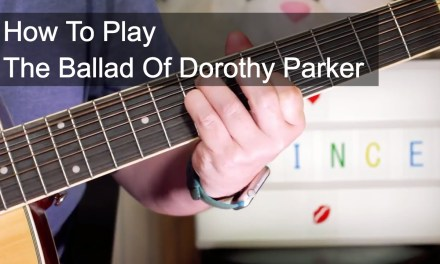 'The Ballad Of Dorothy Parker' Prince Guitar Lesson