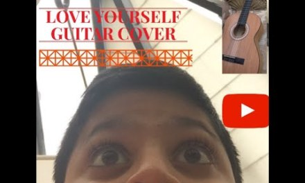 Love Yourself ~ Justin Bieber (Guitar Cover)