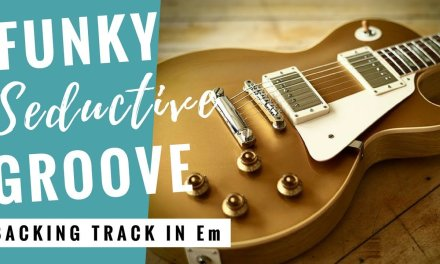 Smooth Seductive Groove | Guitar Backing Track Jam in E