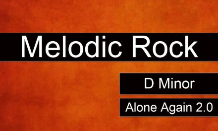 MELODIC ROCK Backing Track Jam in D Minor – Alone Again