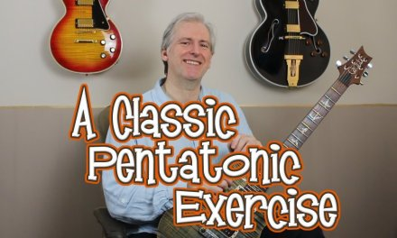 A Classic Pentatonic Exercise, and a great way of building proficiency in any position